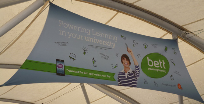 BETT University banner